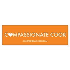 Compassionate Cook - Bumper Sticker