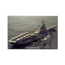 USS RANDOLPH Rectangle Magnet