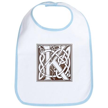 Celtic Letter K Bib