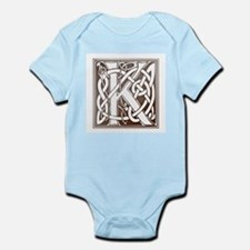 Celtic Letter K Infant Creeper