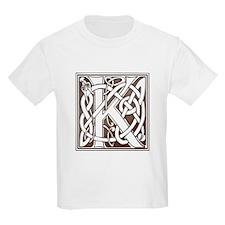Celtic Letter K Kids T-Shirt