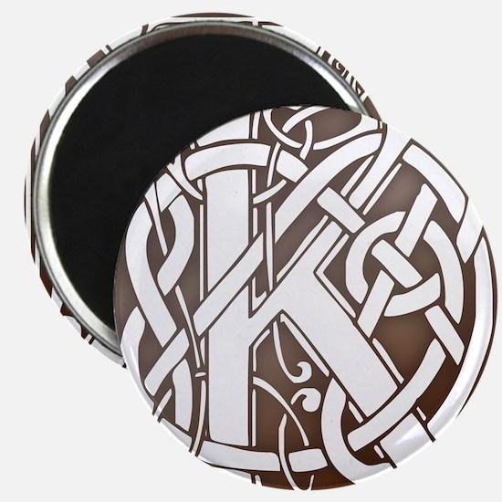 Celtic Letter K Magnet