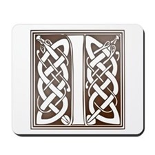 Celtic Letter I Mousepad