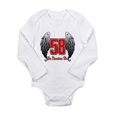 MSwingsItalian Long Sleeve Infant Bodysuit