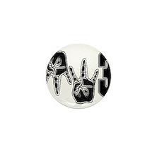 mw3 gangsta Mini Button (10 pack)