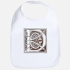 Celtic Letter D Bib