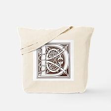 Celtic Letter D Tote Bag