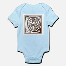 Celtic Letter C Infant Creeper