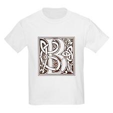 Celtic Letter B Kids T-Shirt
