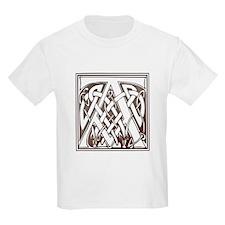 Celtic Letter A Kids T-Shirt
