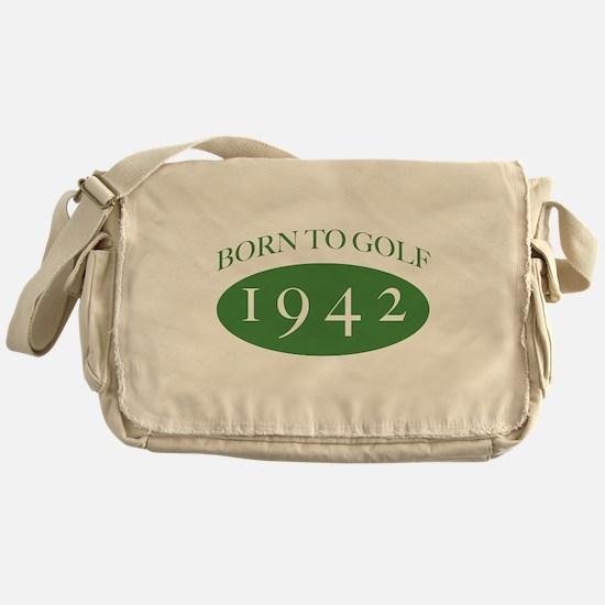 1942 Born To Golf Messenger Bag