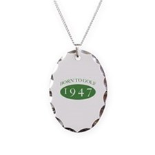 1947 Born To Golf Necklace