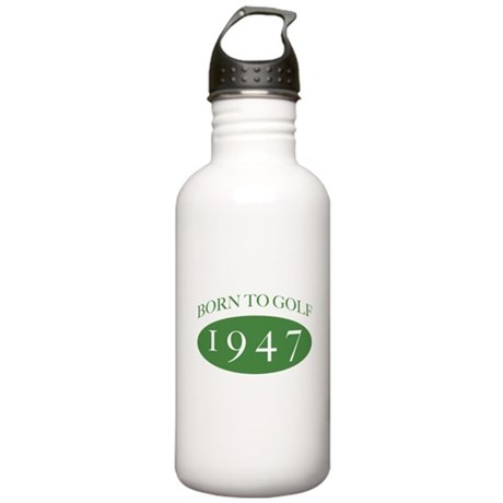 1947 Born To Golf Stainless Water Bottle 1.0L