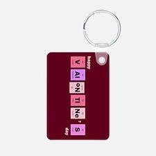 Geek Happy Valentine's Day Keychains