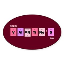 Geek Happy Valentine's Day Decal