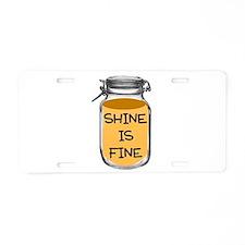 Cute Liquor Aluminum License Plate