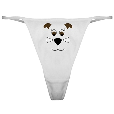 Bow Wow Puppy Face Classic Thong