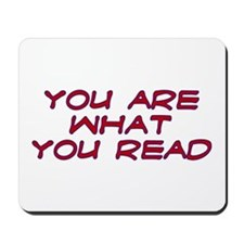 You are what you read Mousepad