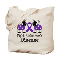 Fight Alzheimer's Tote Bag