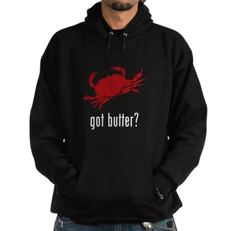 got butter? Hoodie (dark)