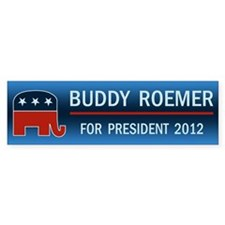 Buddy Roemer Bumper Sticker