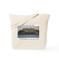 Fort San Felipe Tote Bag