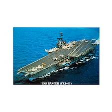 USS RANGER Rectangle Magnet