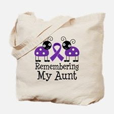 Remembering Aunt Alzheimer's Tote Bag