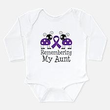 Remembering Aunt Alzheimer's Long Sleeve Infant Bo