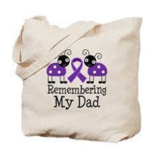 Remembering Dad Alzheimer's Tote Bag