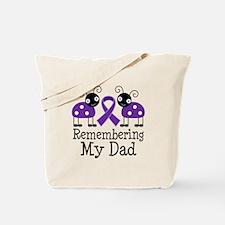Remembering Dad Alzheimer's Tote Bag