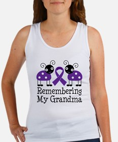 Remembering Grandma Alzheimer's Women's Tank Top