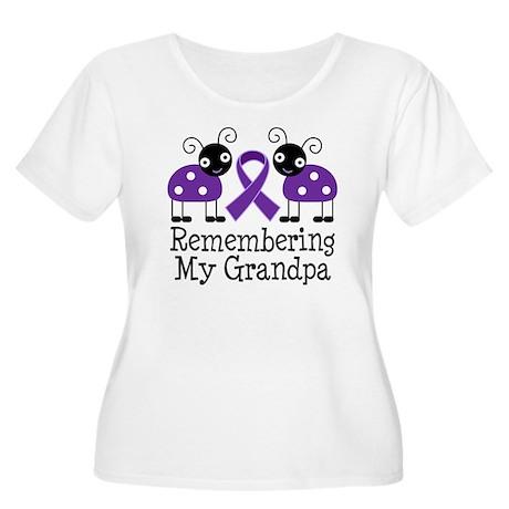 Remembering Grandpa Alzheimer's Women's Plus Size