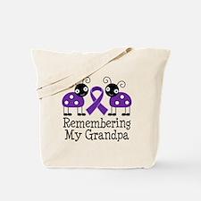 Remembering Grandpa Alzheimer's Tote Bag