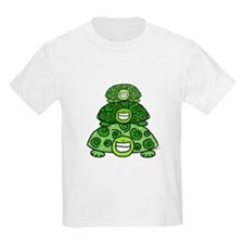 Three Turtles Kids T-Shirt