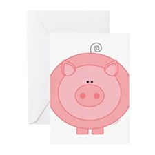 Pig Greeting Cards (Pk of 10)