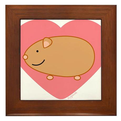 Guinea Pig Framed Tile