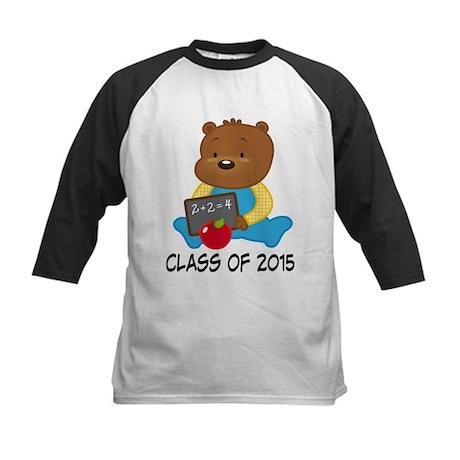Class of 2015 Teddy Bear Kids Baseball Jersey