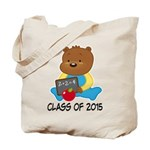 Class of 2015 Teddy Bear Tote Bag