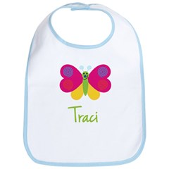 Traci The Butterfly Bib