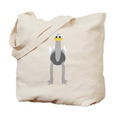 Ostrich Design Tote Bag
