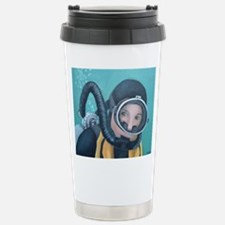 Double Hose Diver Stainless Steel Travel Mug