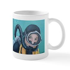Double Hose Diver Small Mug