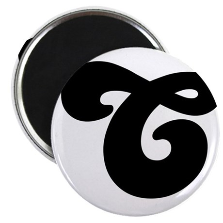 Fun Funky letter C Magnet