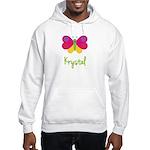 Krystal The Butterfly Hooded Sweatshirt