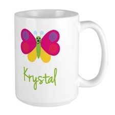 Krystal The Butterfly Ceramic Mugs