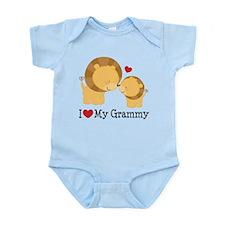 I Heart My Grammy Infant Bodysuit