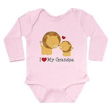 I Heart My Grandpa Onesie Romper Suit