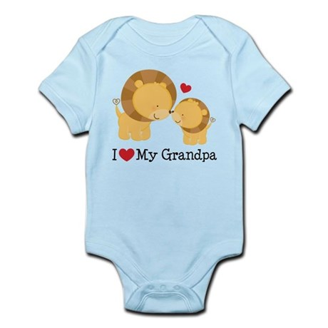 I Heart My Grandpa Infant Bodysuit