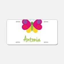 Antonia The Butterfly Aluminum License Plate